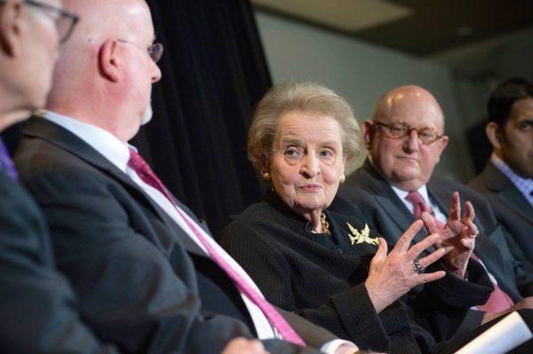 State Madeleine Albright